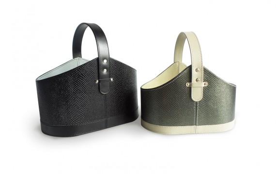 Leather Basket / ตะกร้าหนัง