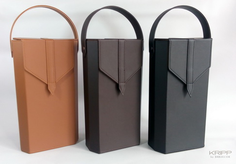 Leather Wine Bottle Box / กล่องหนังใส่ไวน์